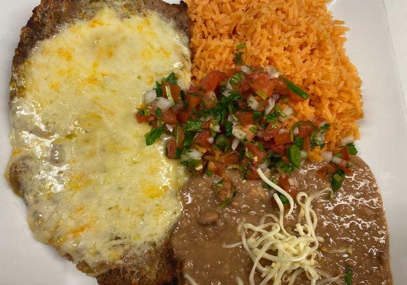 Steak A La Azteca