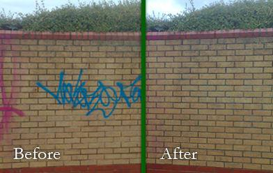 Gum & Grafitti Removal