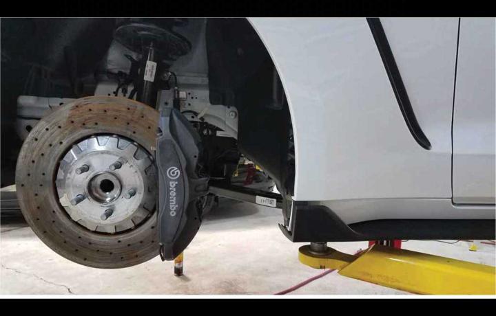 GT350 GT500 shelby cobra mustang caliper paint