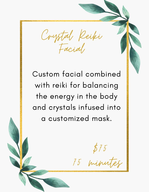 Crystal Reiki Facial