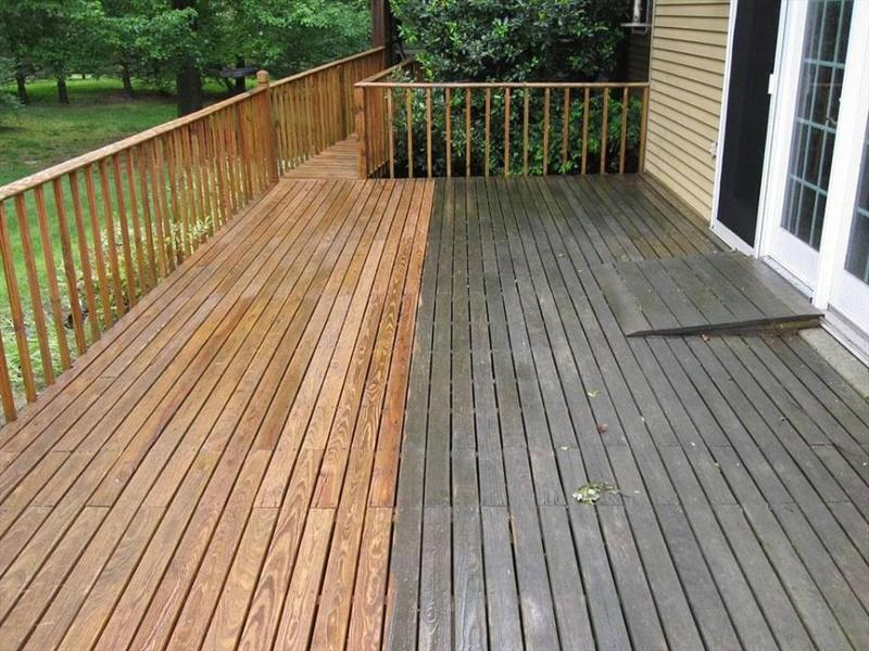 Residential Pressure Washing In Petersburg Ky Deck And Fence