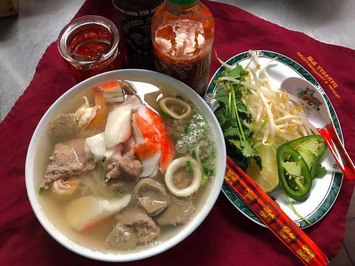 Seafood Combo Pho