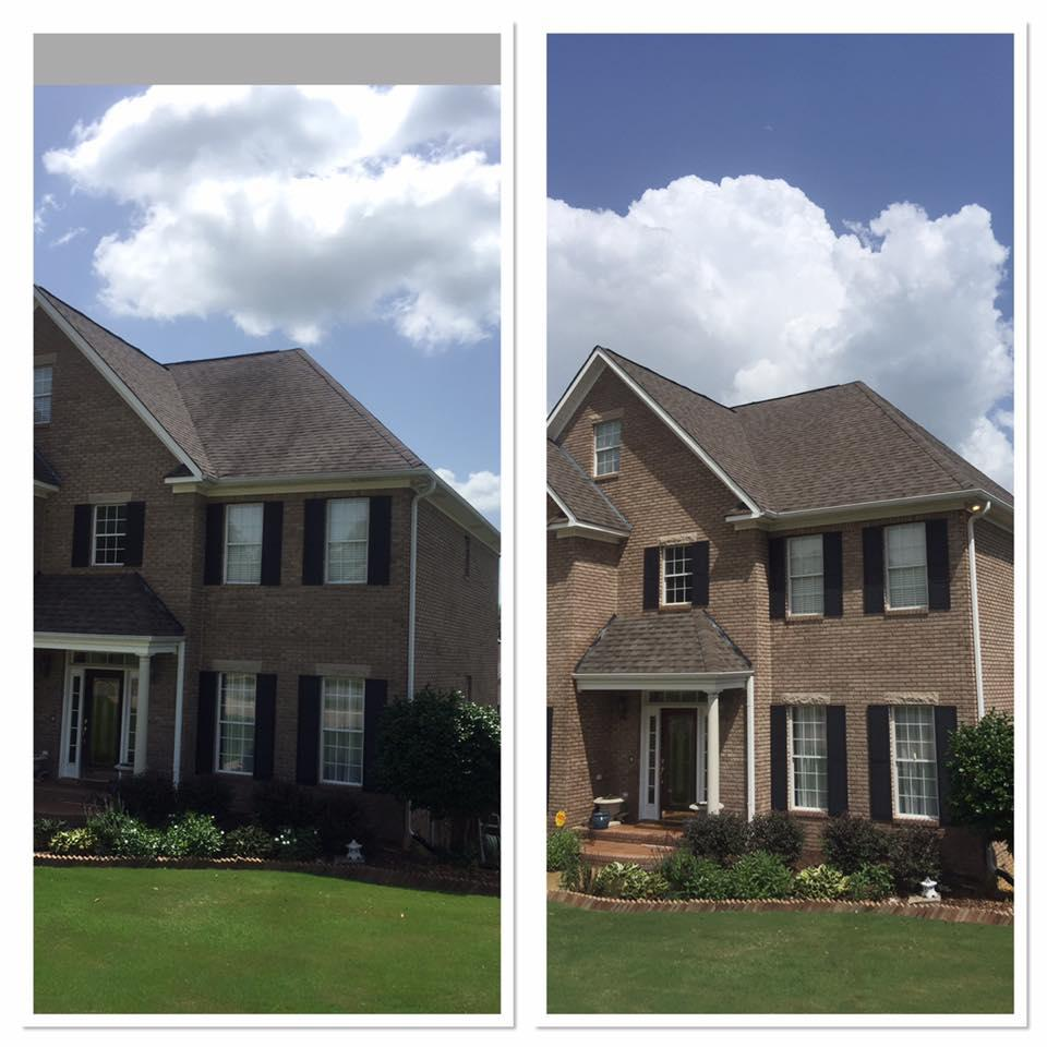 Soft Wash Roof Cleaning and House Washing