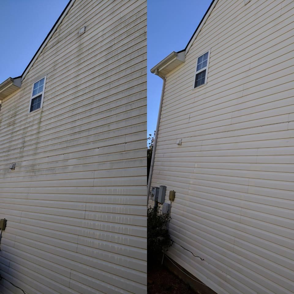 Residential Pressure Washing In Cumming Ga Soft Wash House Washing