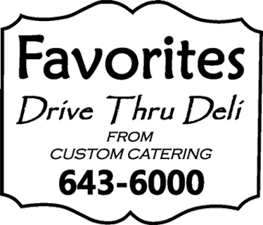 Favorites Drive Thru Deli