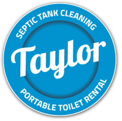 Taylor Septic Tank Cleaning and Portable Toilet Rental Company Logo