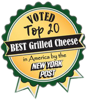 Gayles was voted top 20 Best Grilled Cheese in America by the New York Post.