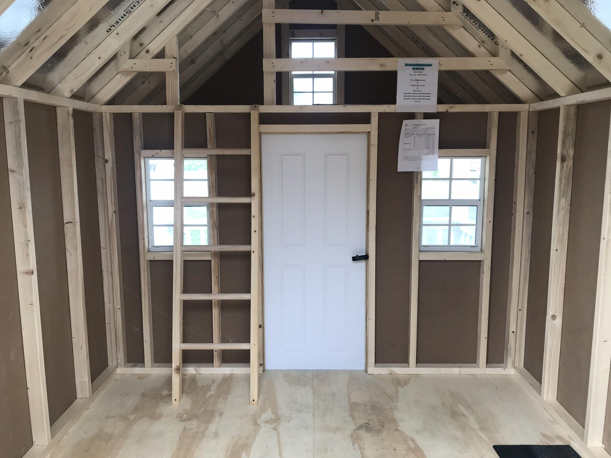 8x12 Playhouse - Amish Built - Different colors available in stock