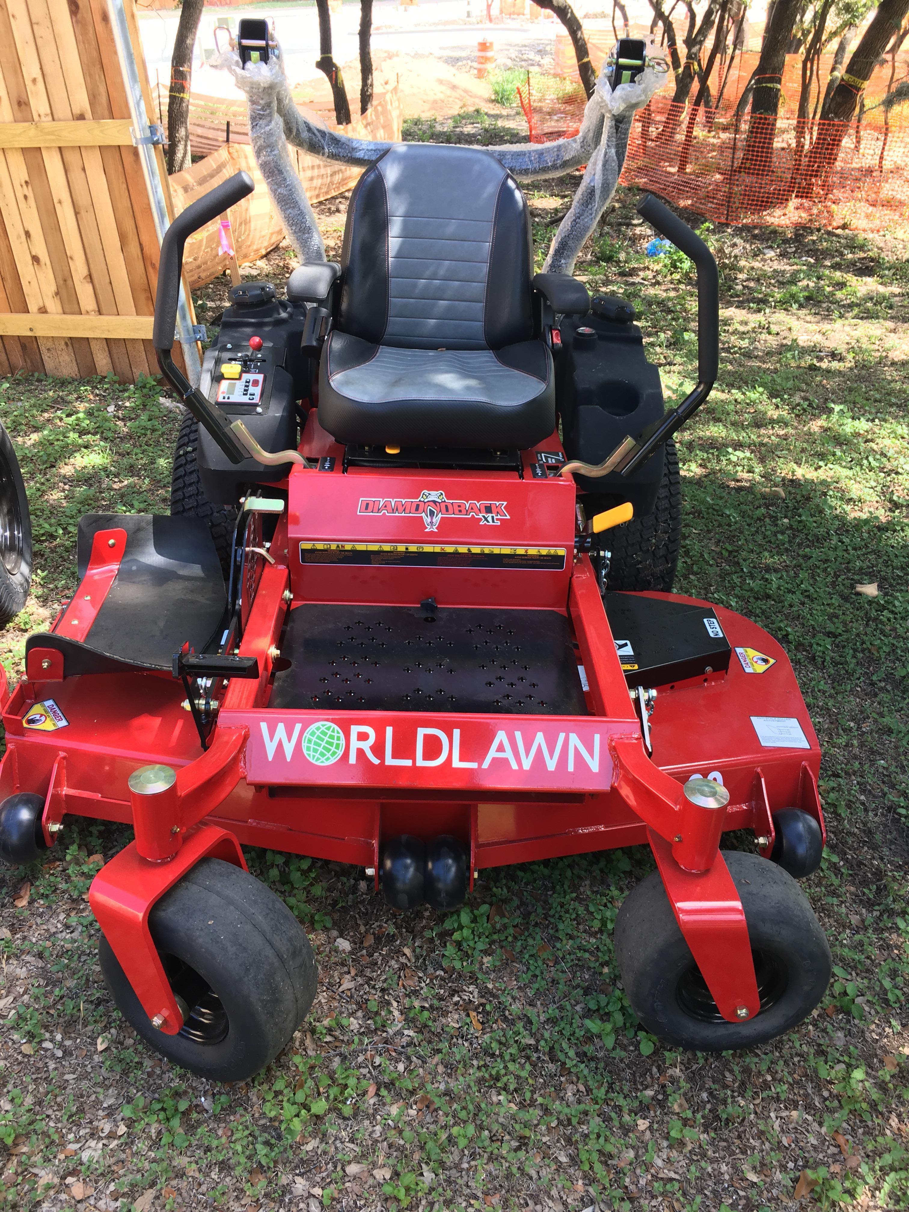 "Worldlawn DiamondBack XL 60"" mower **Clearance**"
