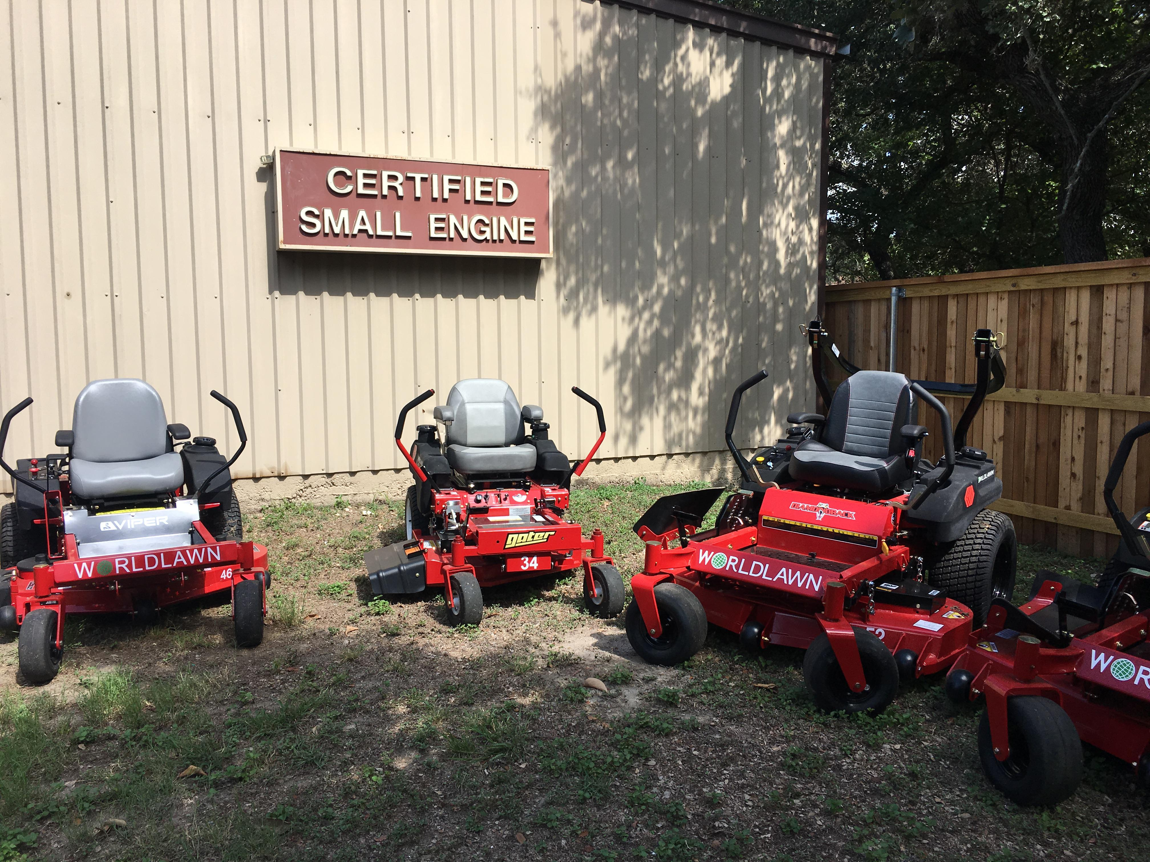 WORLD LAWN ZERO TURN MOWERS