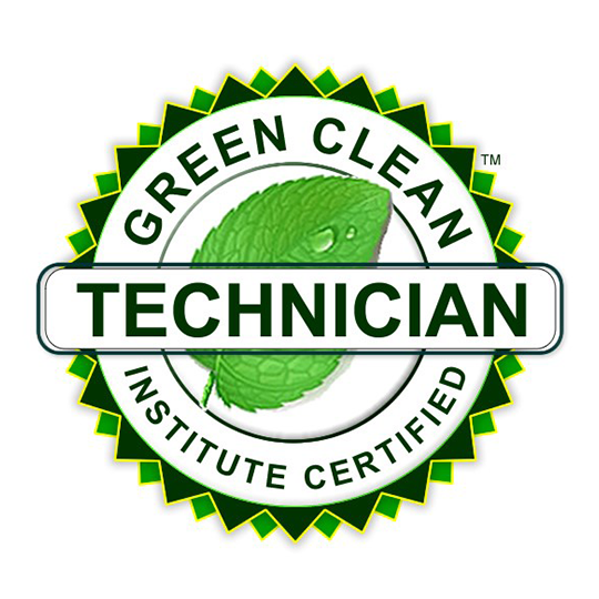 Green Clean Institute Certified technician