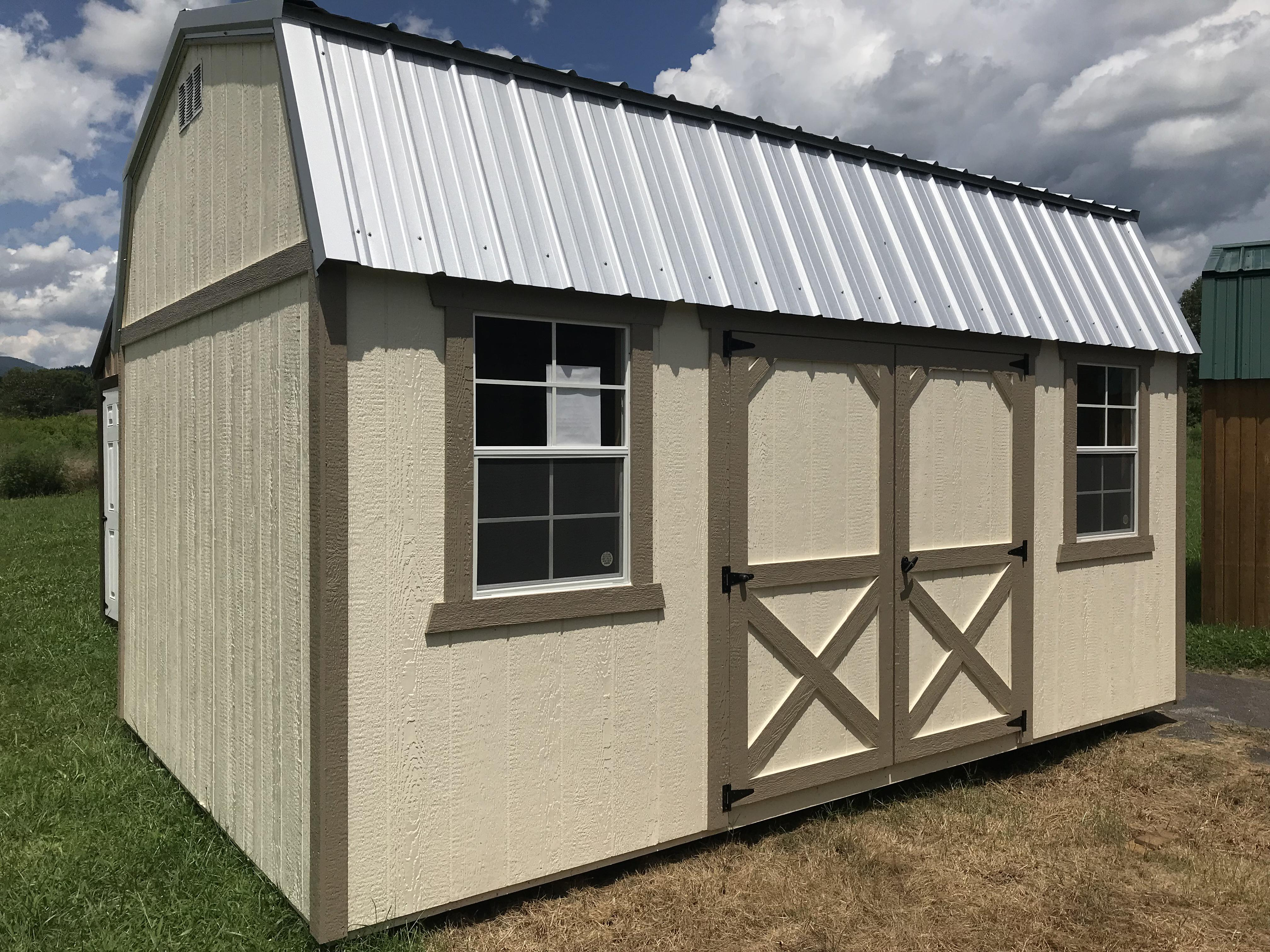 Painted 10x16 Lofted Barn Sold - but we can order you another!