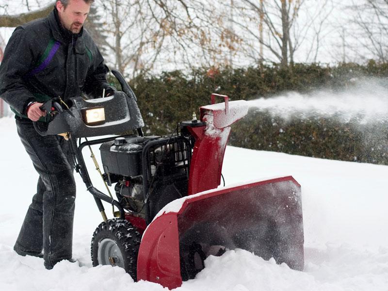 Tired of shoveling snow?