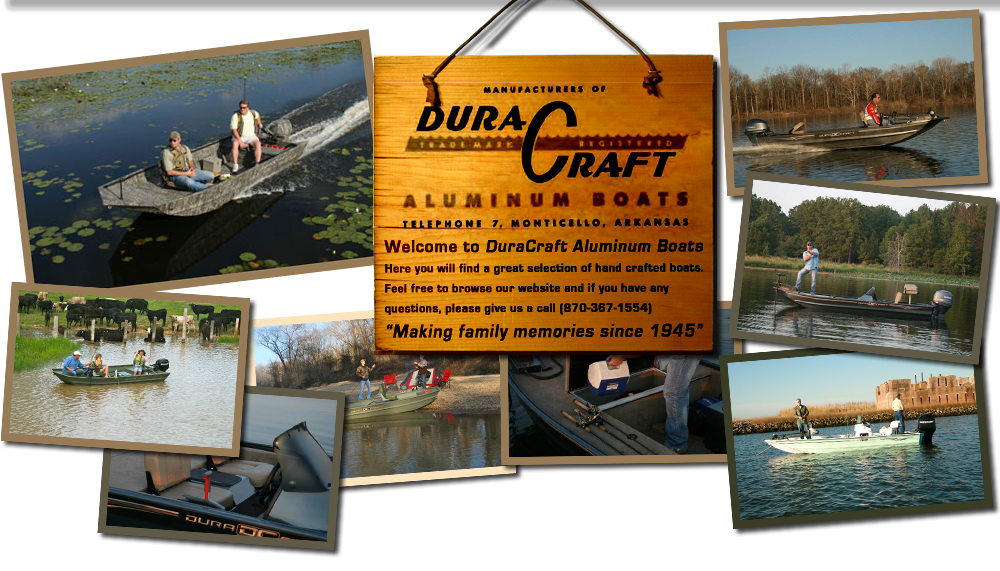 Welcome to DuraCraft Aluminum Boats